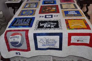 Lily's T-shirt Quilt 2