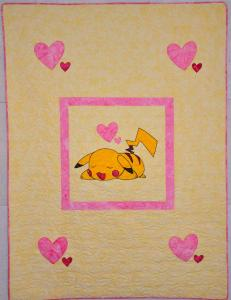 Pikachu Quilt - Cropped