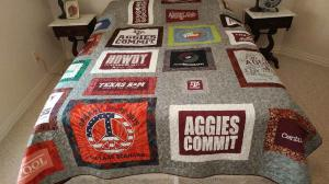 T-shirt quilt-Bueno