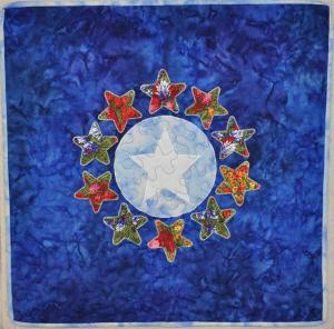 Tx Wildflower Star Wallhanging